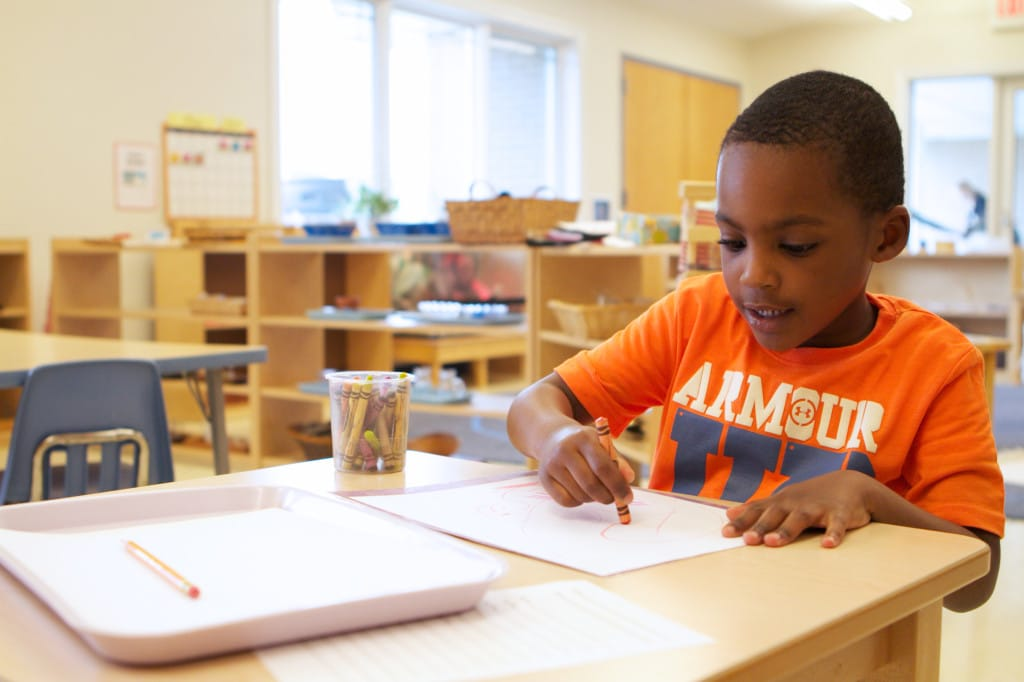 environment in a montessori school essay 5 areas of the prepared environment children will learn to respect and to take care of themselves and their environment a montessori language arts.