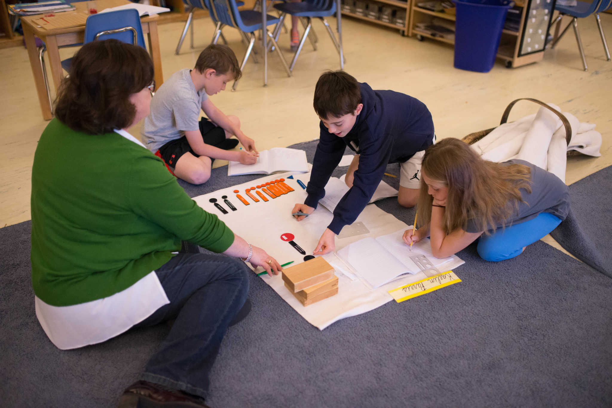 Lower Elementary Sentence Analysis Small Group Lesson