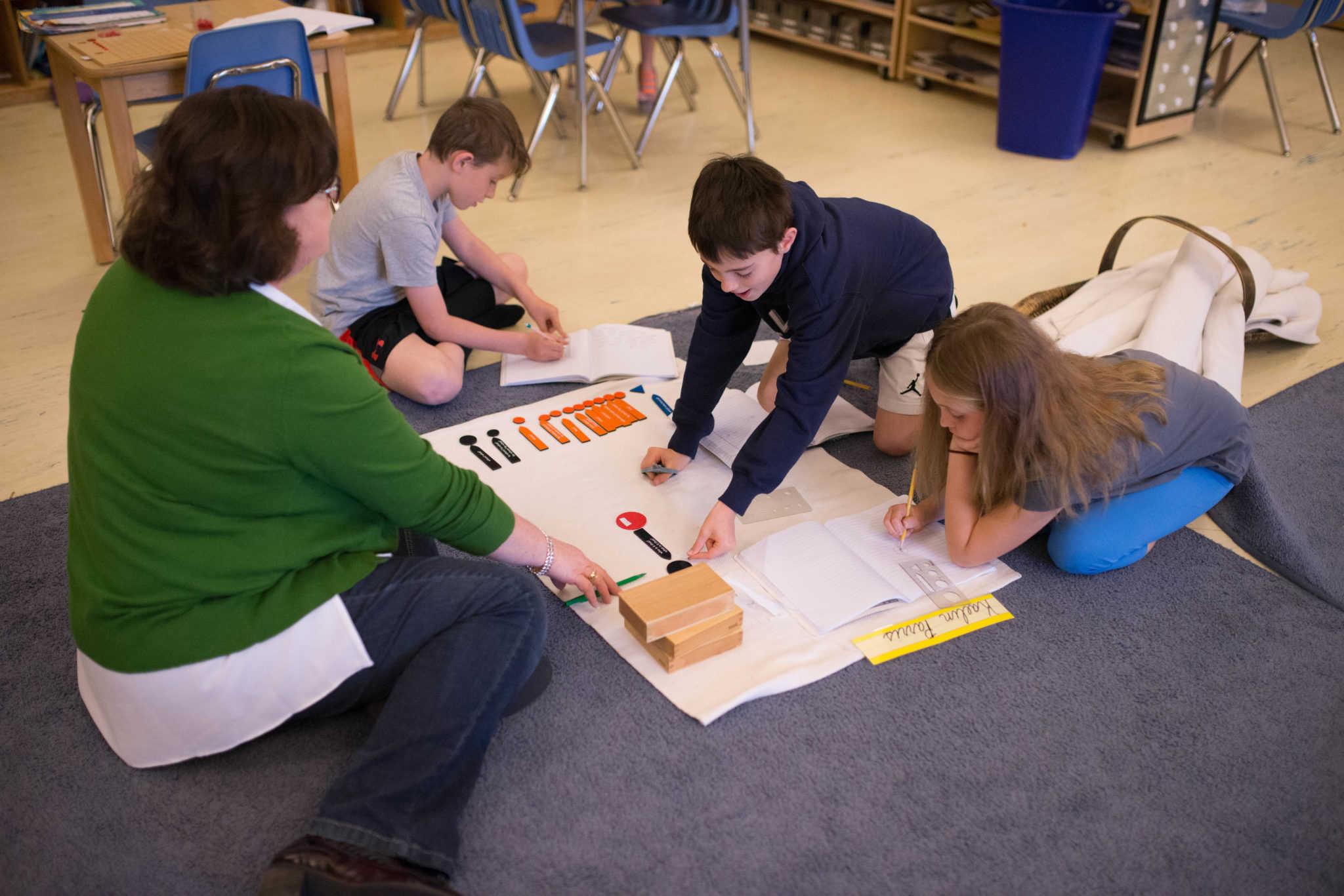 Language in the Montessori Classroom | Chesapeake Montessori