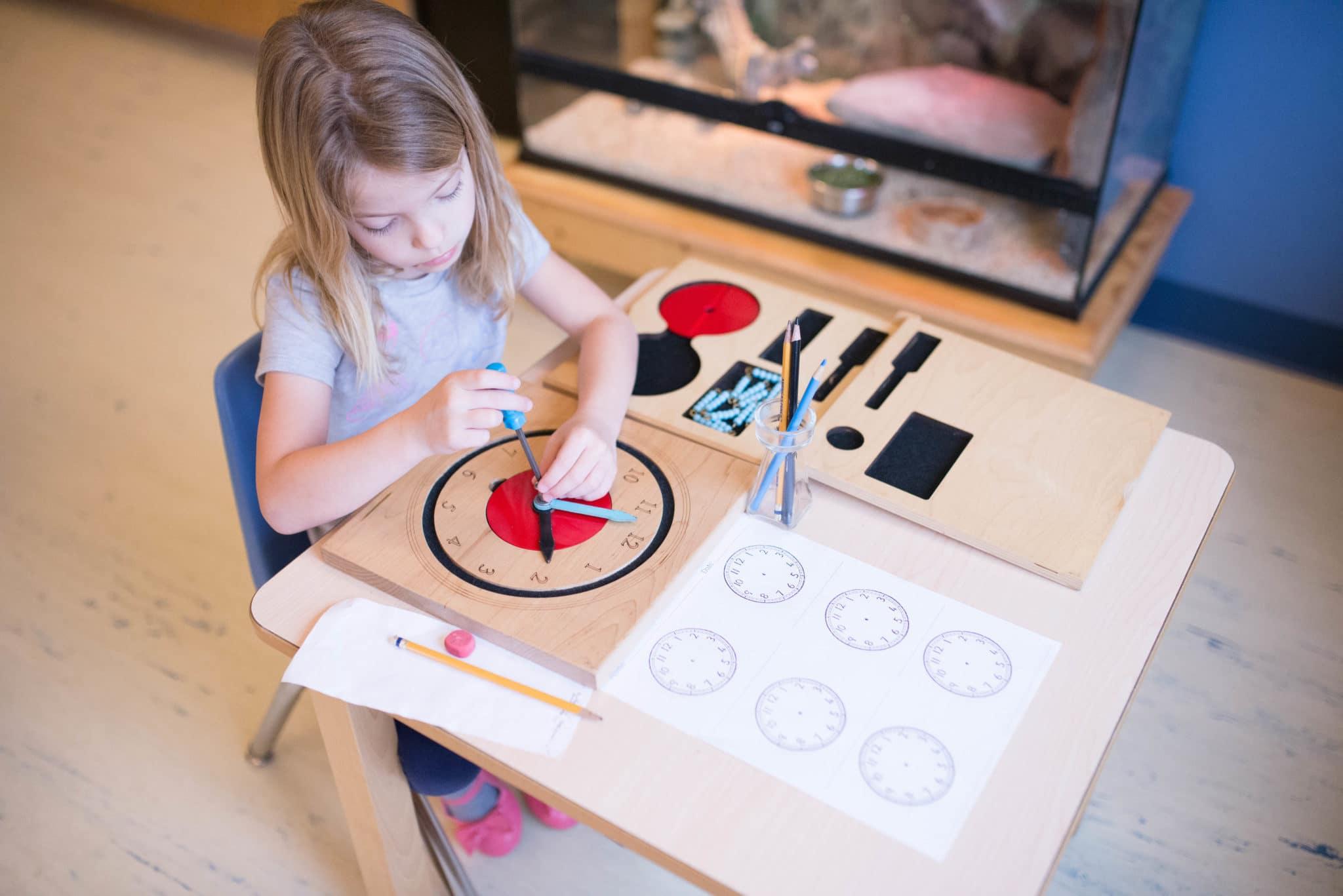 why do we prepare geometry file in montessori