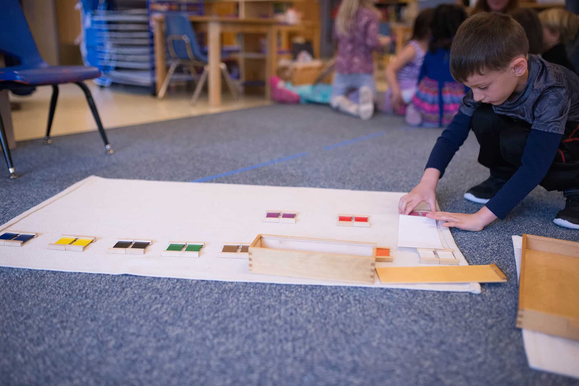 Montessori Senses - Visual Discrimination