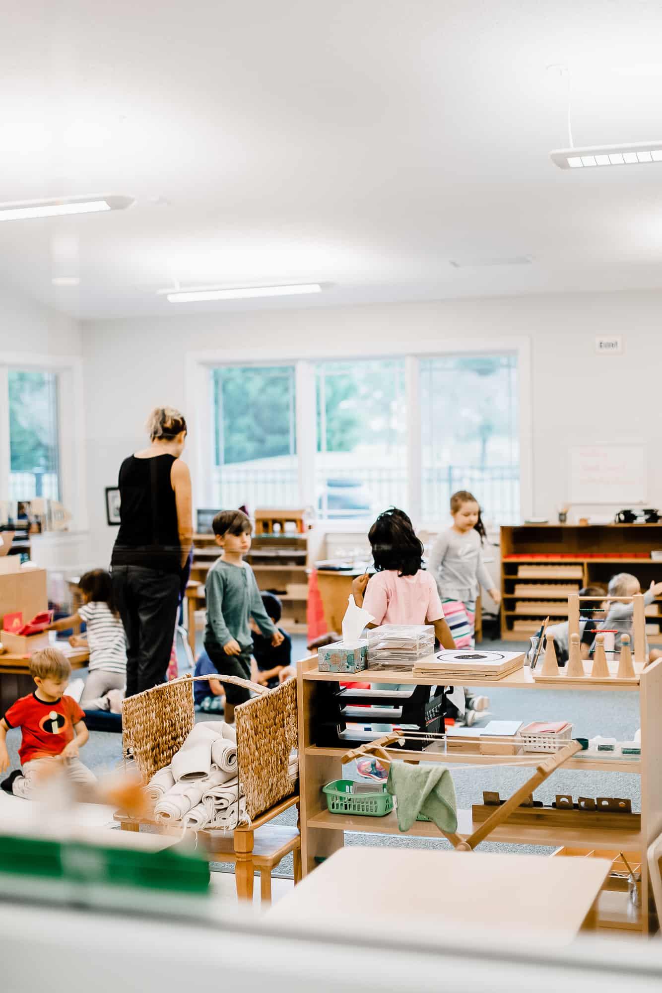 chesapeake montessori school children's house classroom now enrolling